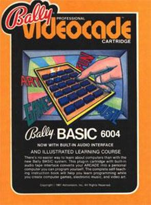 Bally BASIC Cover Art