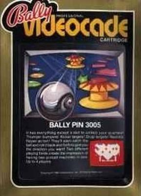 Bally Pin Cover Art