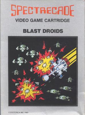 Blast Droids Cover Art