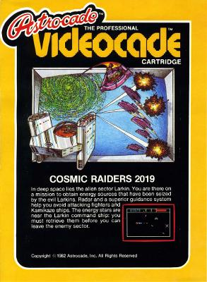 Cosmic Raiders Cover Art