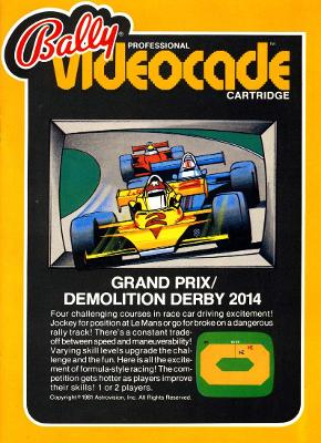 Grand Prix / Demolition Derby Cover Art