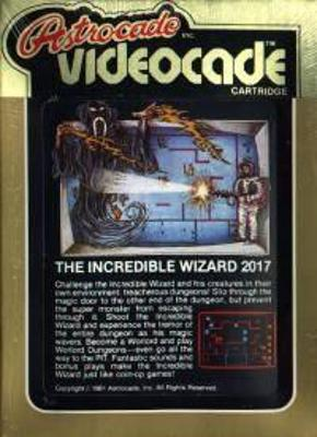 The Incredible Wizard Cover Art
