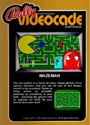 Maze Man Cover Art