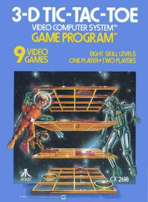 3-D Tic-Tac-Toe [Atari] Cover Art