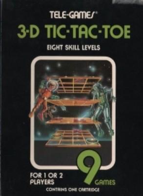 3-D Tic-Tac-Toe [Sears] Cover Art