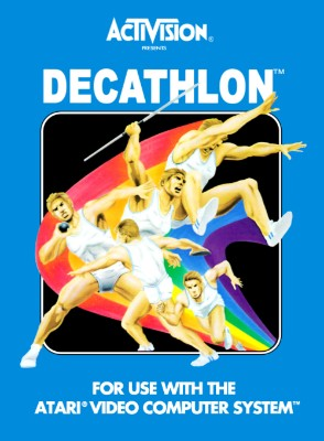 The Activision Decathlon Cover Art