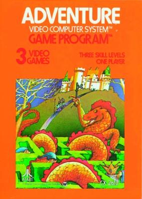 Adventure [Atari] Cover Art