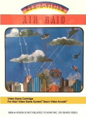 Air Raid Cover Art