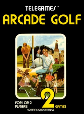 Arcade Golf Cover Art
