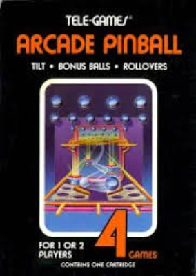 Arcade Pinball Cover Art