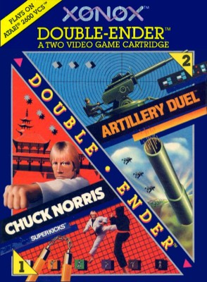 Artillery Duel / Chuck Norris Superkicks Cover Art