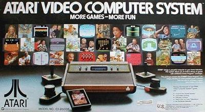Atari 2600 Console Cover Art
