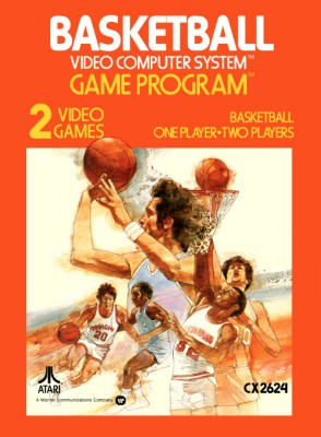 Basketball [Atari] Cover Art