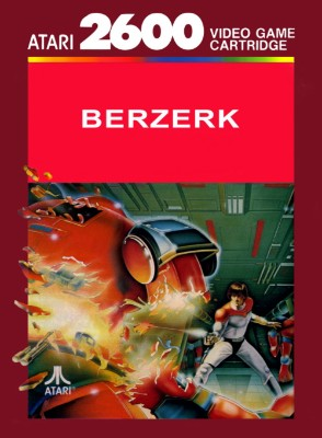 Berzerk [Atari] Cover Art