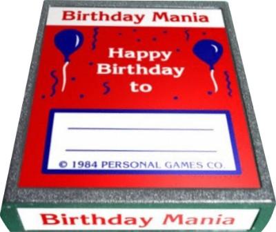 Birthday Mania Cover Art