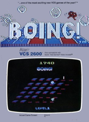 Boing! Cover Art