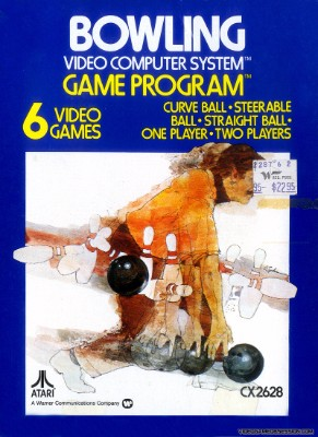Bowling [Atari] Cover Art