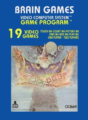 Brain Games [Atari] Cover Art