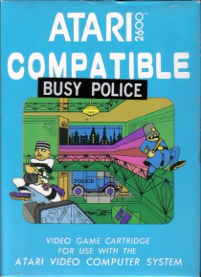 Busy Police Cover Art