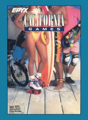 California Games Cover Art