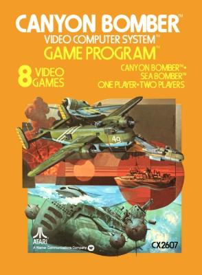 Canyon Bomber [Atari] Cover Art