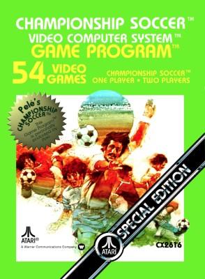 Championship Soccer Cover Art