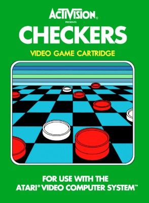 Checkers [Activision] Cover Art