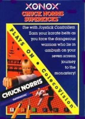 Chuck Norris Superkicks Cover Art
