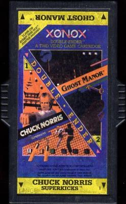 Chuck Norris Superkicks / Ghost Manor Cover Art