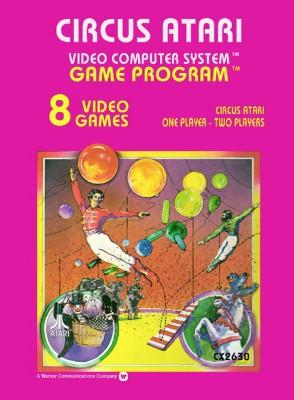 Circus Atari Cover Art