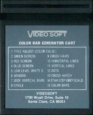 Color Bar Generator Cover Art