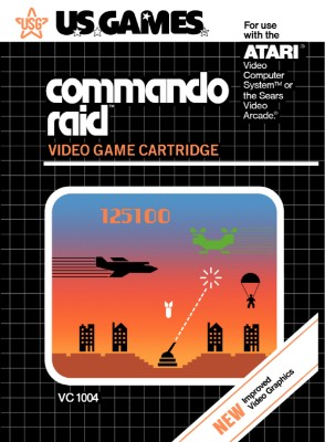 Commando Raid Cover Art