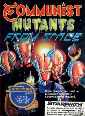 Communist Mutants from Space Cover Art