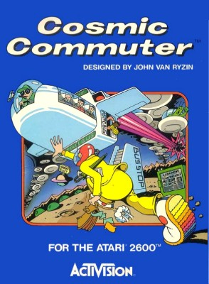 Cosmic Commuter Cover Art