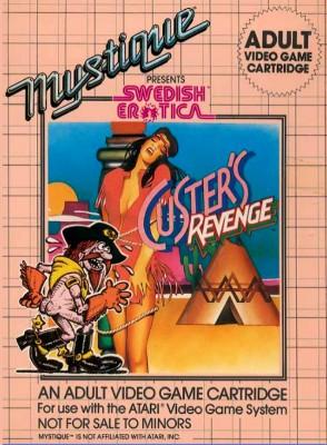 Custer's Revenge Cover Art