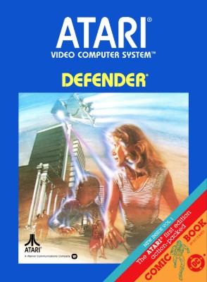 Defender [Atari] Cover Art