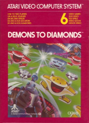 Demons to Diamonds [Atari] Cover Art