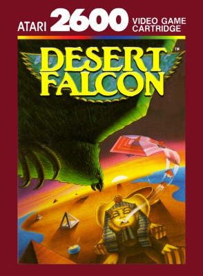 Desert Falcon Cover Art