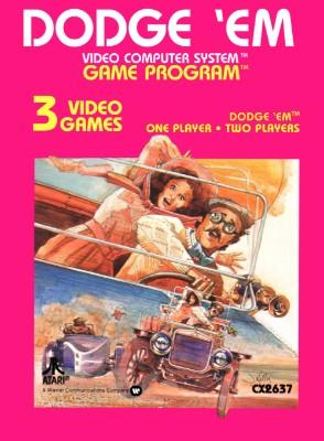 Dodge 'Em Cover Art