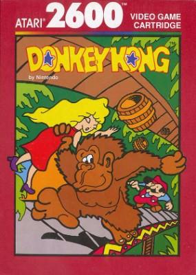 Donkey Kong [Atari] Cover Art