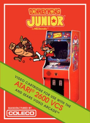 Donkey Kong Junior [Coleco] Cover Art