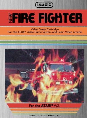 Fire Fighter Cover Art