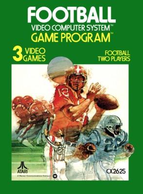 Football [Atari] Cover Art