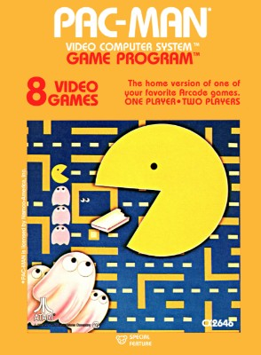 Pac-Man [Atari] Cover Art