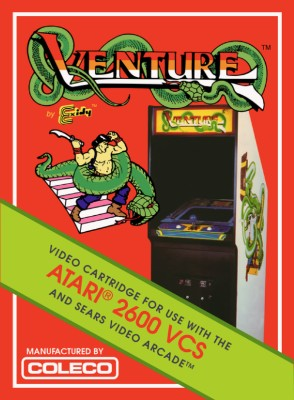Venture [Coleco] Cover Art