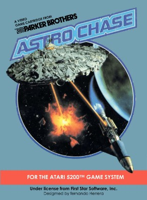 Astro Chase Cover Art