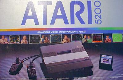Atari 5200 Console Cover Art