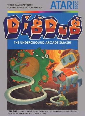 Dig Dug Cover Art
