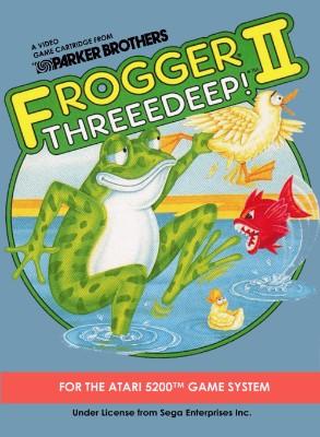 Frogger II: Threeedeep! Cover Art
