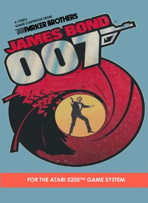 James Bond 007 Cover Art
